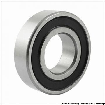 0.2500 in x 0.6875 in x 0.2500 in  Nice Ball Bearings (RBC Bearings) 3002FDCTNTG18 Radial & Deep Groove Ball Bearings